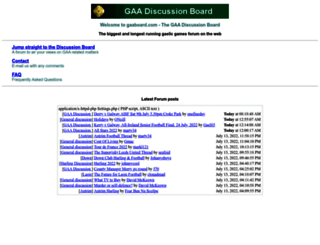 gaaboard.com screenshot