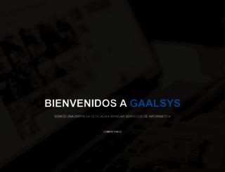 gaalsys.com.ar screenshot