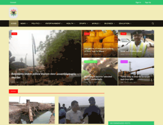 gaananews.com screenshot