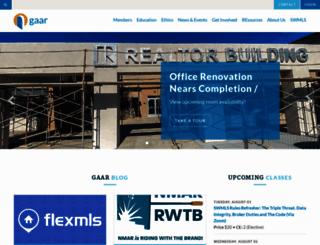 gaar.com screenshot