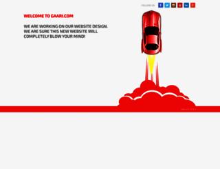 gaari.com screenshot