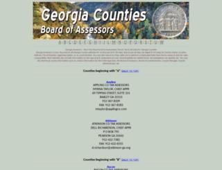 gaassessors.com screenshot