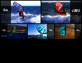 gaastra.com screenshot