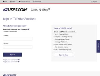 gab.usps.com screenshot