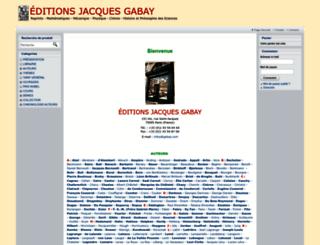 gabay.com screenshot