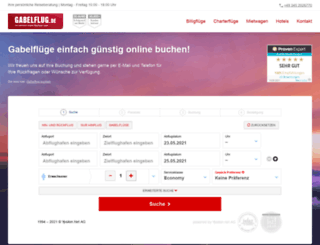 gabelflug.org screenshot