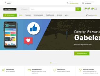 gabelpoles.com screenshot