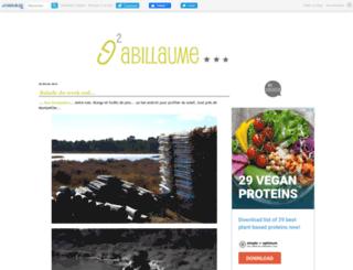 gabillaume.canalblog.com screenshot