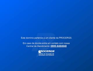 gabinetedigital.rs.gov.br screenshot