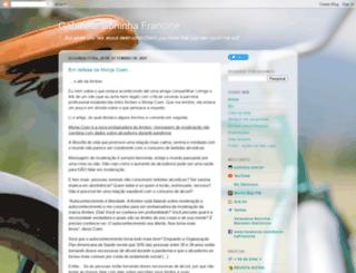 gabinetesoninha.blogspot.com screenshot