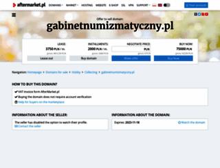 gabinetnumizmatyczny.pl screenshot