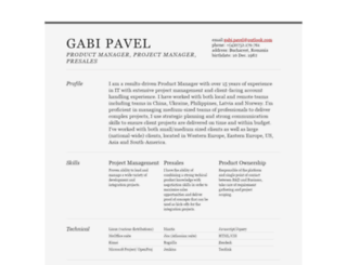 gabipavel.info screenshot