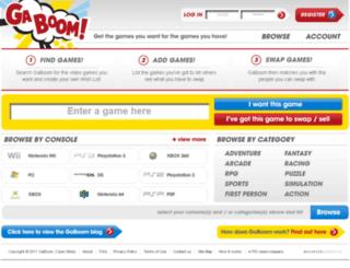 gaboom.co.uk screenshot