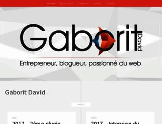 gaborit-d.com screenshot