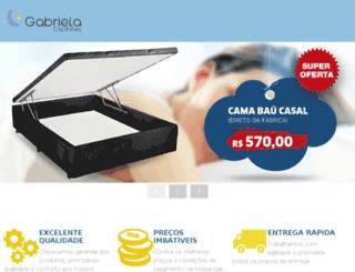 gabrielacolchoes.com.br screenshot