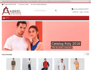 gabrieladvertising.ro screenshot