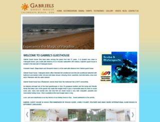gabrielguesthousegoa.com screenshot