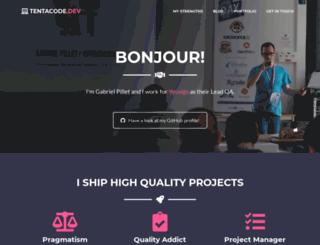 gabrielpillet.com screenshot