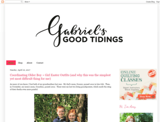 gabrielsgoodtidings.blogspot.com screenshot