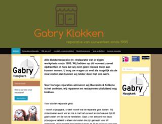 gabryklokken.nl screenshot