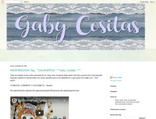 gabycositas.blogspot.mx screenshot