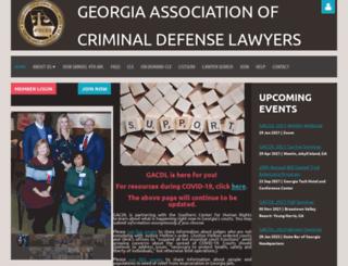 gacdl.memberlodge.org screenshot