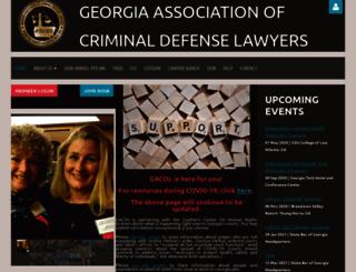 gacdl.org screenshot