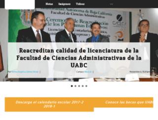gaceta.uabc.edu.mx screenshot