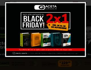gacetajuridica.com.pe screenshot