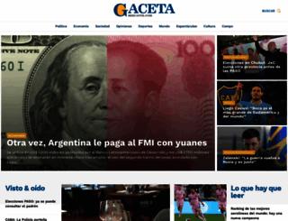 gacetamercantil.com screenshot