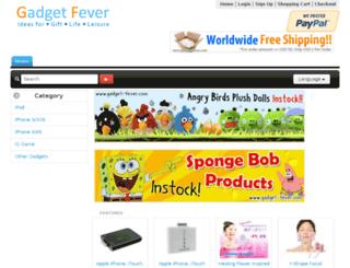 gadget-fever.com screenshot