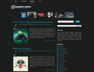 gadget-ideaz.blogspot.com screenshot