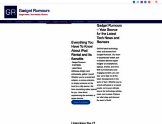 gadget-rumours.com screenshot