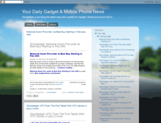 gadgetbee.blogspot.com screenshot