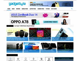 gadgetbytenepal.com screenshot
