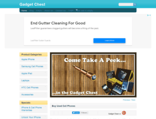 gadgetchest.com screenshot