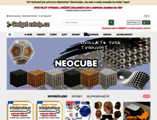 gadgeteshop.cz screenshot
