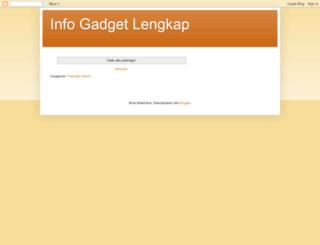 gadgetinfolengkap.blogspot.com screenshot