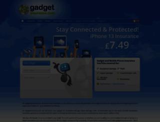 gadgetinsurance.com screenshot
