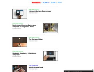 gadgets.boingboing.net screenshot