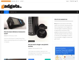 gadgets.ie screenshot