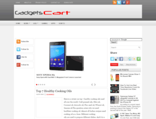 gadgetscart.blogspot.com screenshot