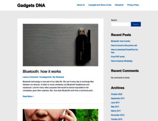 gadgetsdna.com screenshot