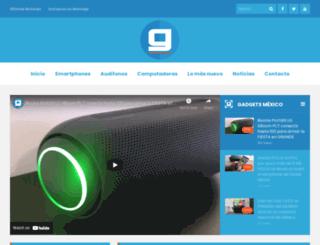 gadgetsmexico.mx screenshot
