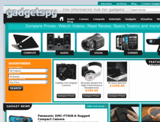 gadgetspy.co.uk screenshot