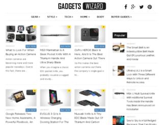gadgetswizard.com screenshot