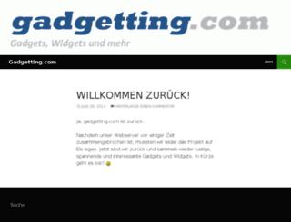 gadgetting.com screenshot