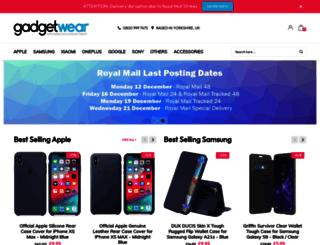 gadgetwear.co.uk screenshot