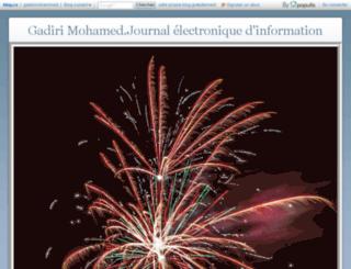 gadirimohammed.blog.ca screenshot