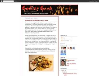 gadlinggeek.blogspot.com screenshot